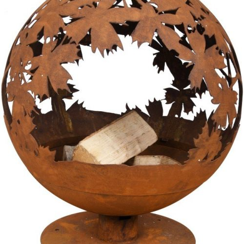 FIRE GLOBE LASER CUT (LEAVES) – FF293