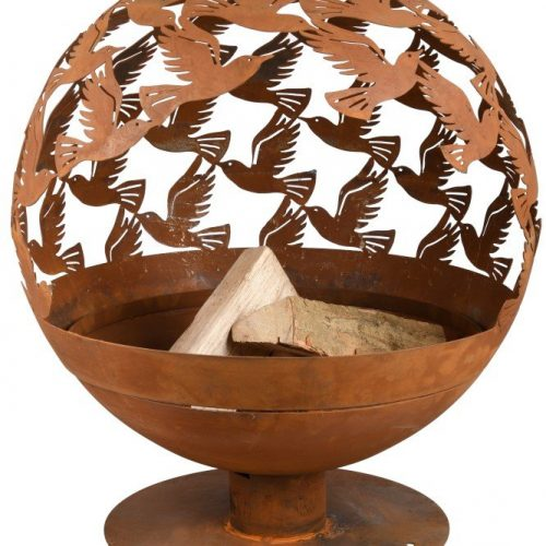 FIRE GLOBE LASER CUT BIRDS – FF401 –