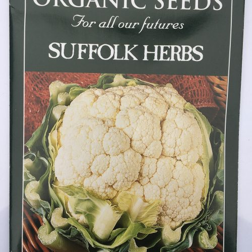 Organic Cauliflower Seeds – Goodman F1