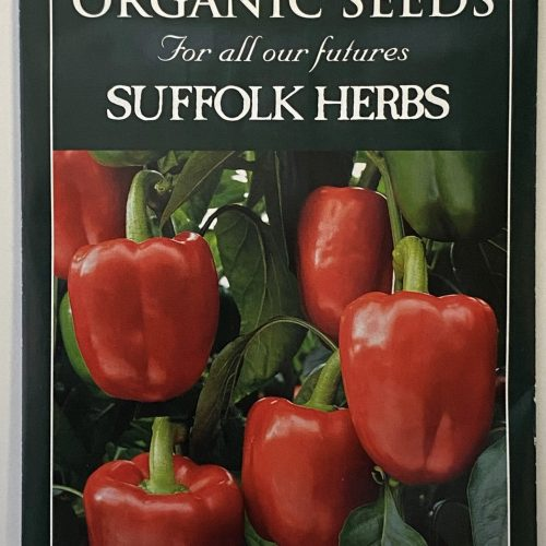 Organic Pepper Seeds – Bendigo F1
