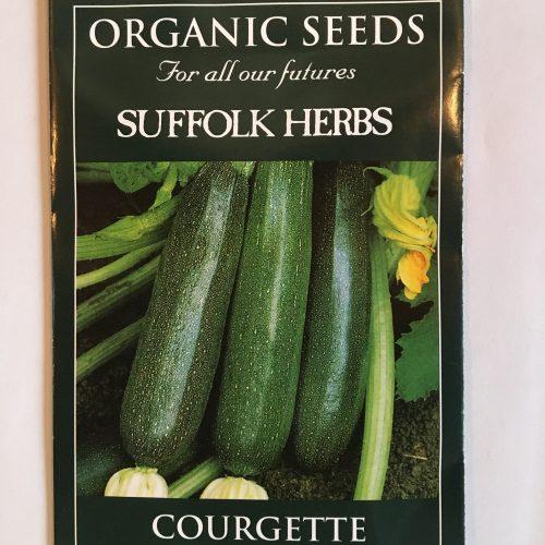 Organic Courgette Seeds – Nero di Milano