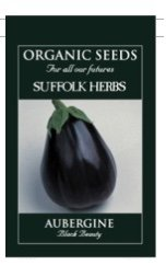 Organic Aubergine Seeds – Black Beauty