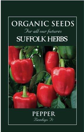 Organic Pepper Seeds – Bendigo F1
