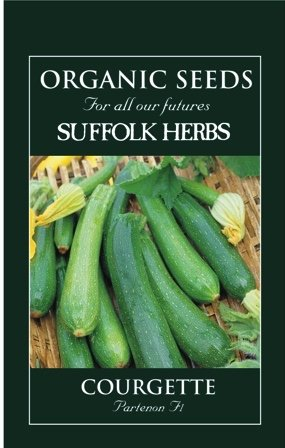 Organic Courgette Seeds – Partenon F1
