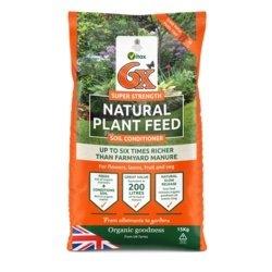 Organico 6x Organic Fibrous Fertiliser Bag 15kg