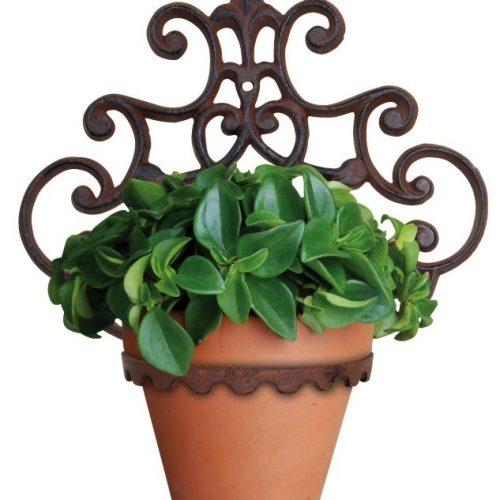 Cast Iron Flower Pot Holder – One Plant