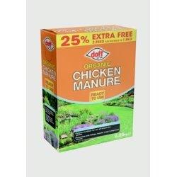 Doff Organic Chicken Manure 2.25kg