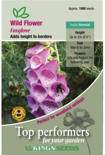 Wildflower – foxglove Seeds