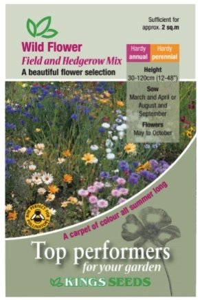 Wildflower – Field and Hedgerow Mix