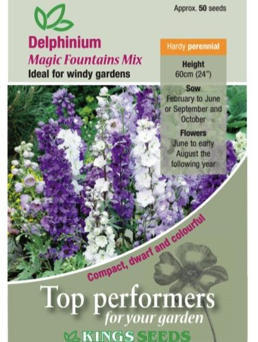 Delphinium Magic Fountains Mixed – Seeds