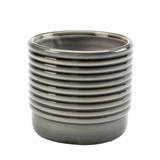 Burgon and Ball Small Grey Oslo Pot